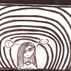 Ecco cosa disegnavo quando lavoravo in un callcenter.